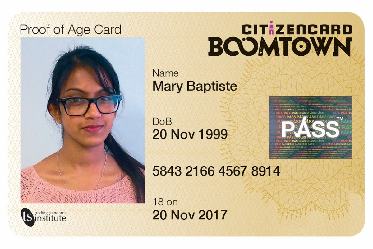 Discounted ID cards for Boomtown Citizens!