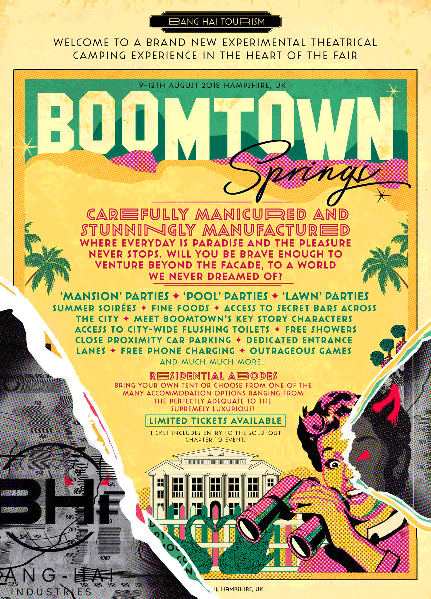 Boomtown Springs Accommodation Options now Available!