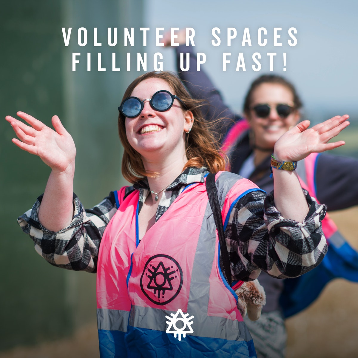 Volunteer spaces filling up fast!