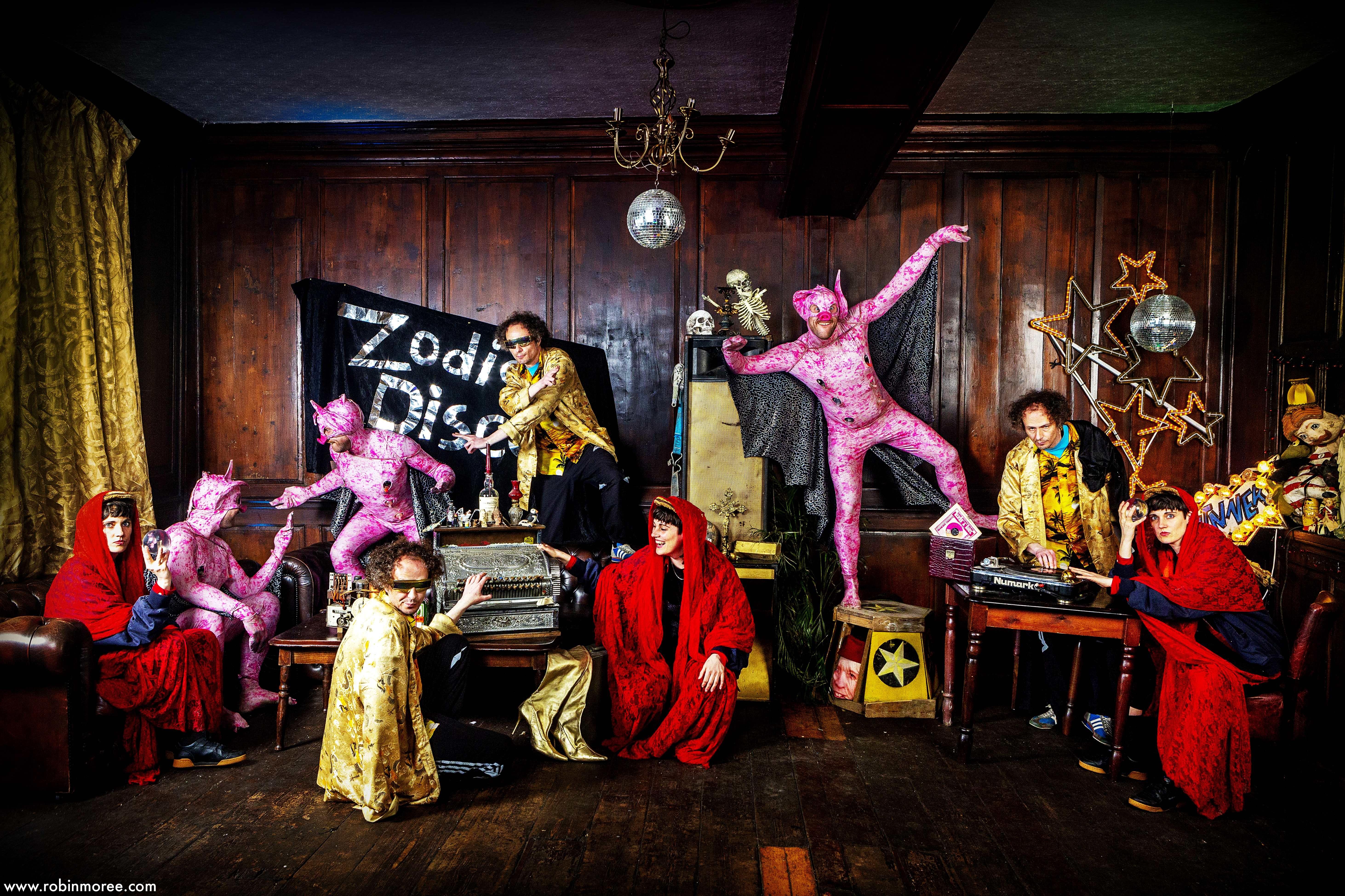 Zoinks Sideshows & The Zodiac Disco
