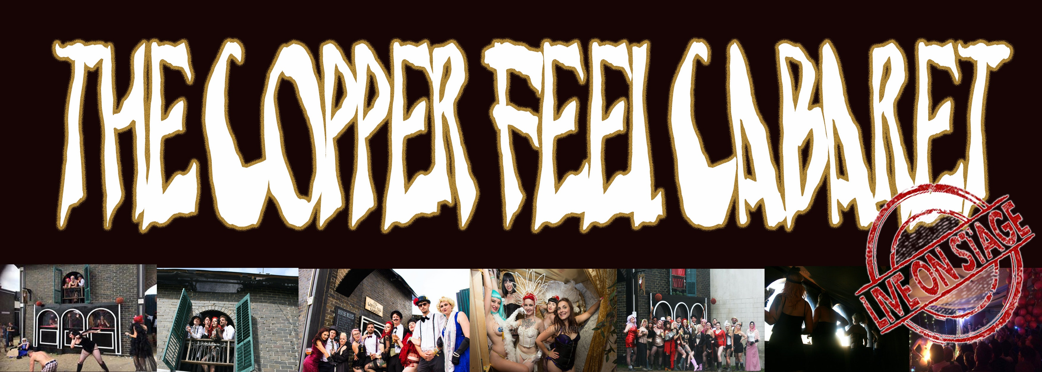 The Copper Feel Cabaret LIVE