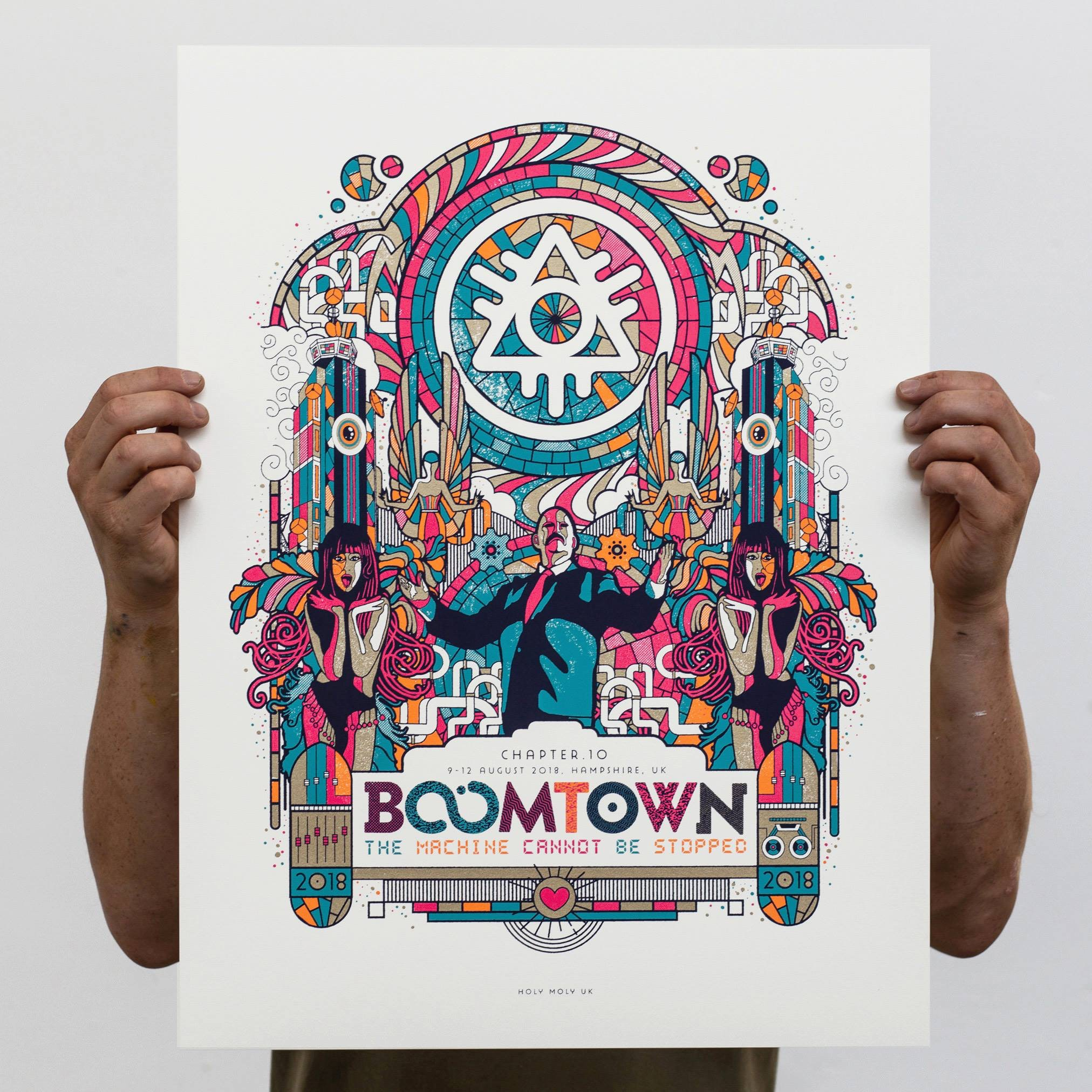 Just launched.. the Limited Edition CH10 Screenprint!