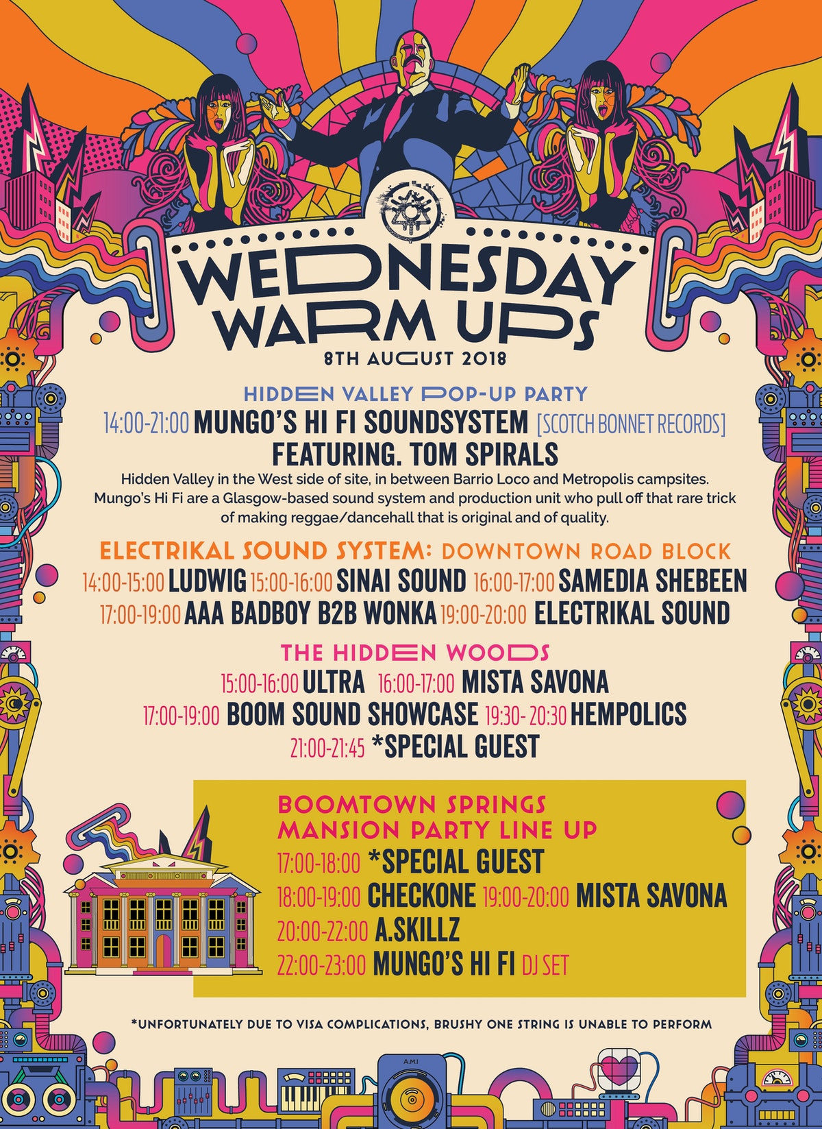 Have you got your Wednesday warm up ticket yet??!