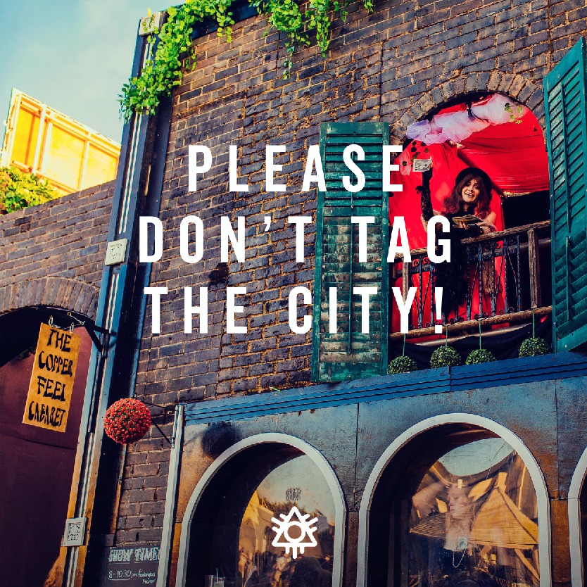 Don't tag the city!