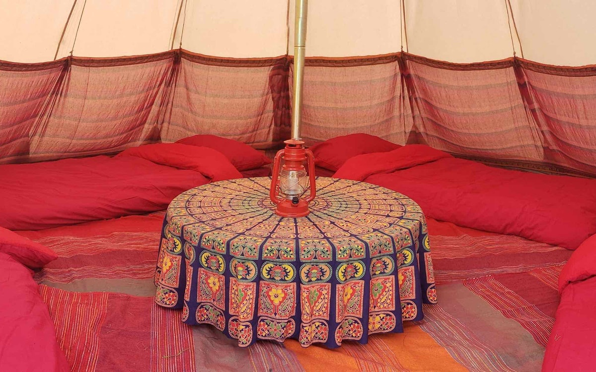 Luxury Tipi Tents (sleeps 2 - 5)