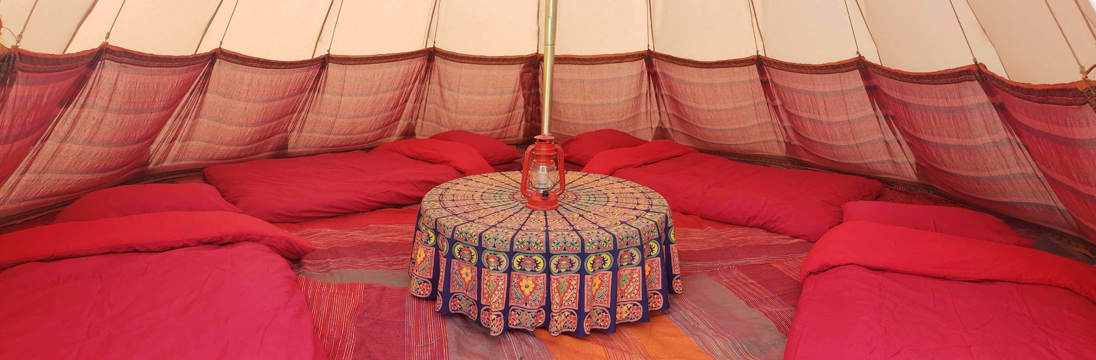 Tipi Tents (sleeps 2 - 5)