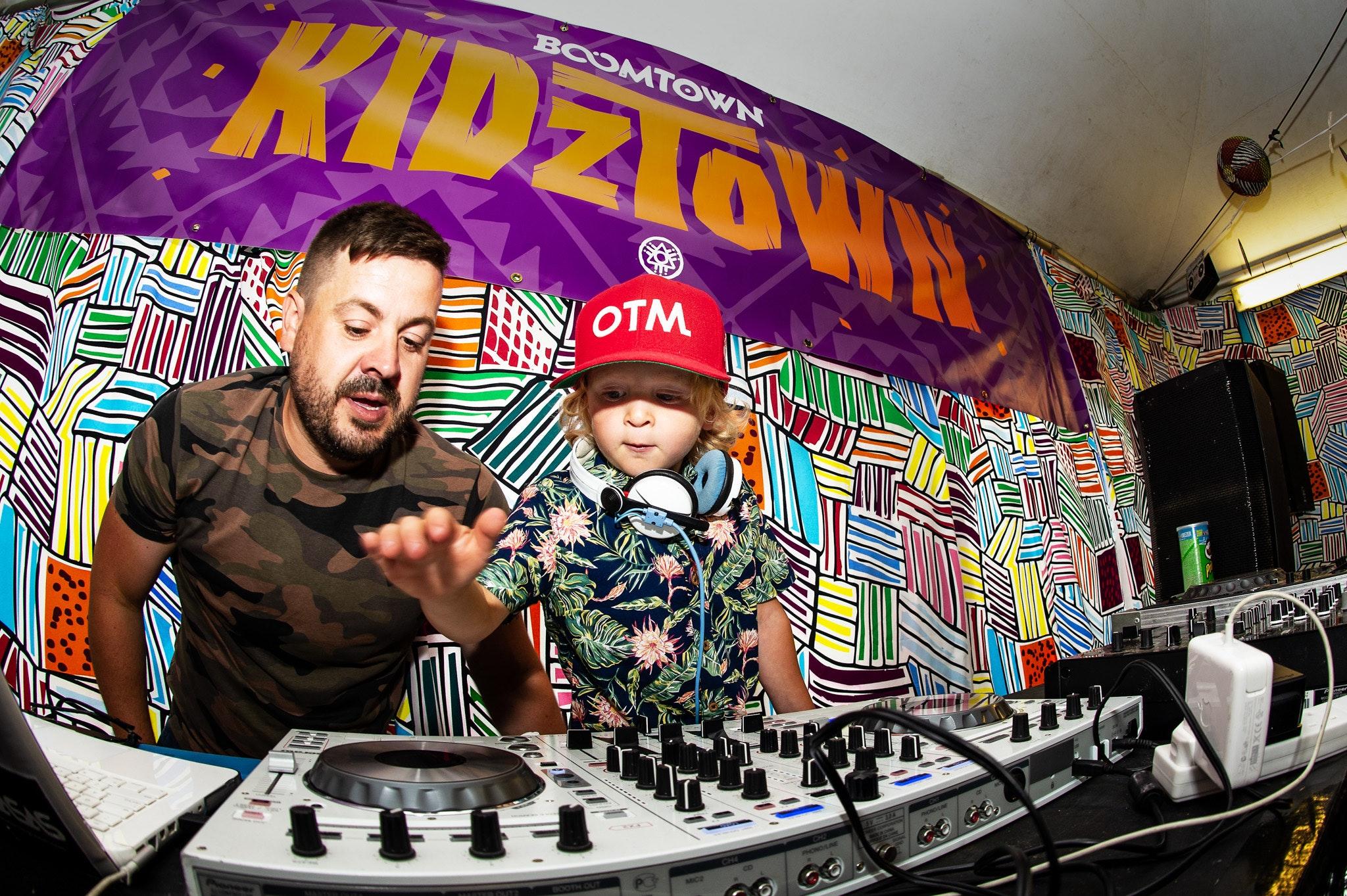 Boomtown Backstage Mini-Tour #7: DJ Archie