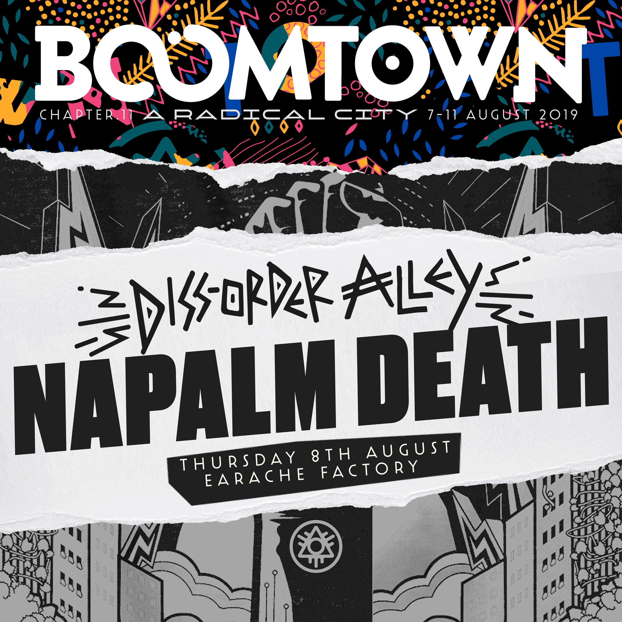 First Headliner Announced for Diss-Order Alley