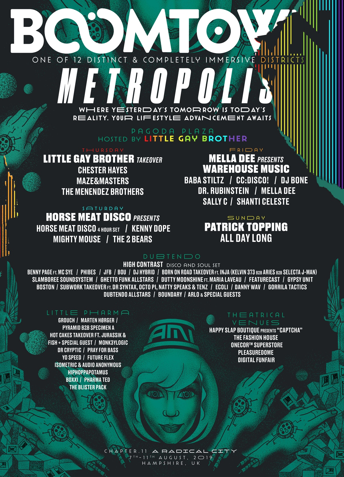 DISTRICT ANNOUNCEMENT: Metropolis | Boomtown Chapter 11 - A Radical