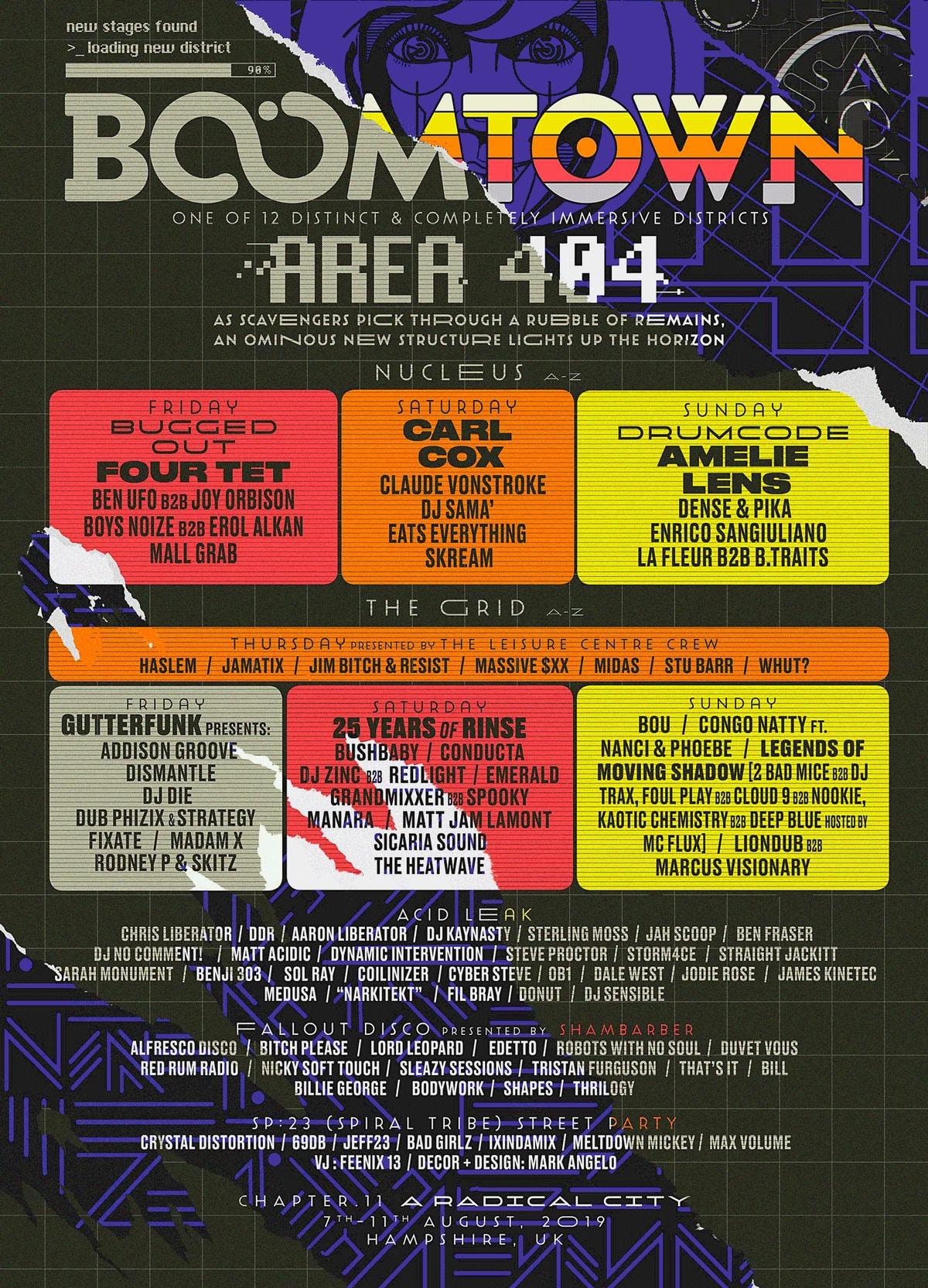 DISTRICT ANNOUNCEMENT: AREA 404 | Boomtown Chapter 12 - New