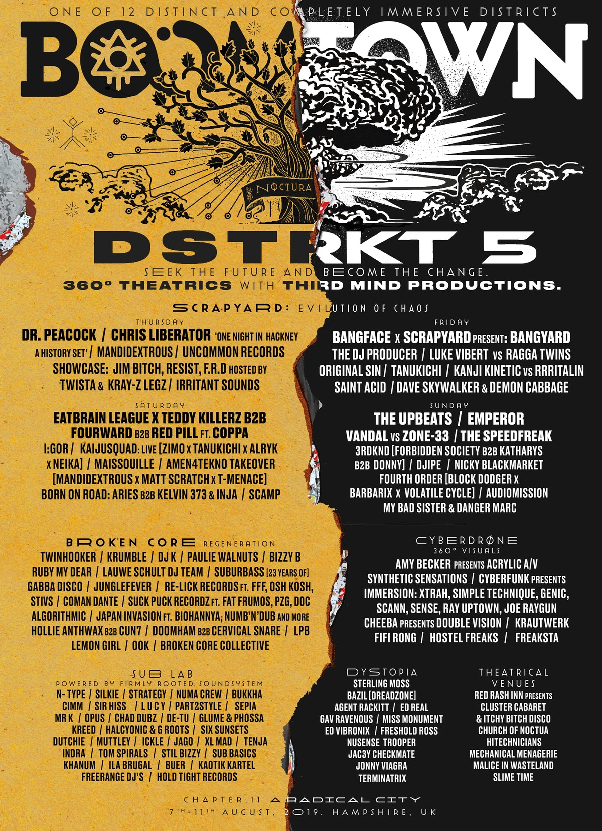 DISTRICT ANNOUNCEMENT: DSTRKT 5 | Boomtown Chapter 12 - New