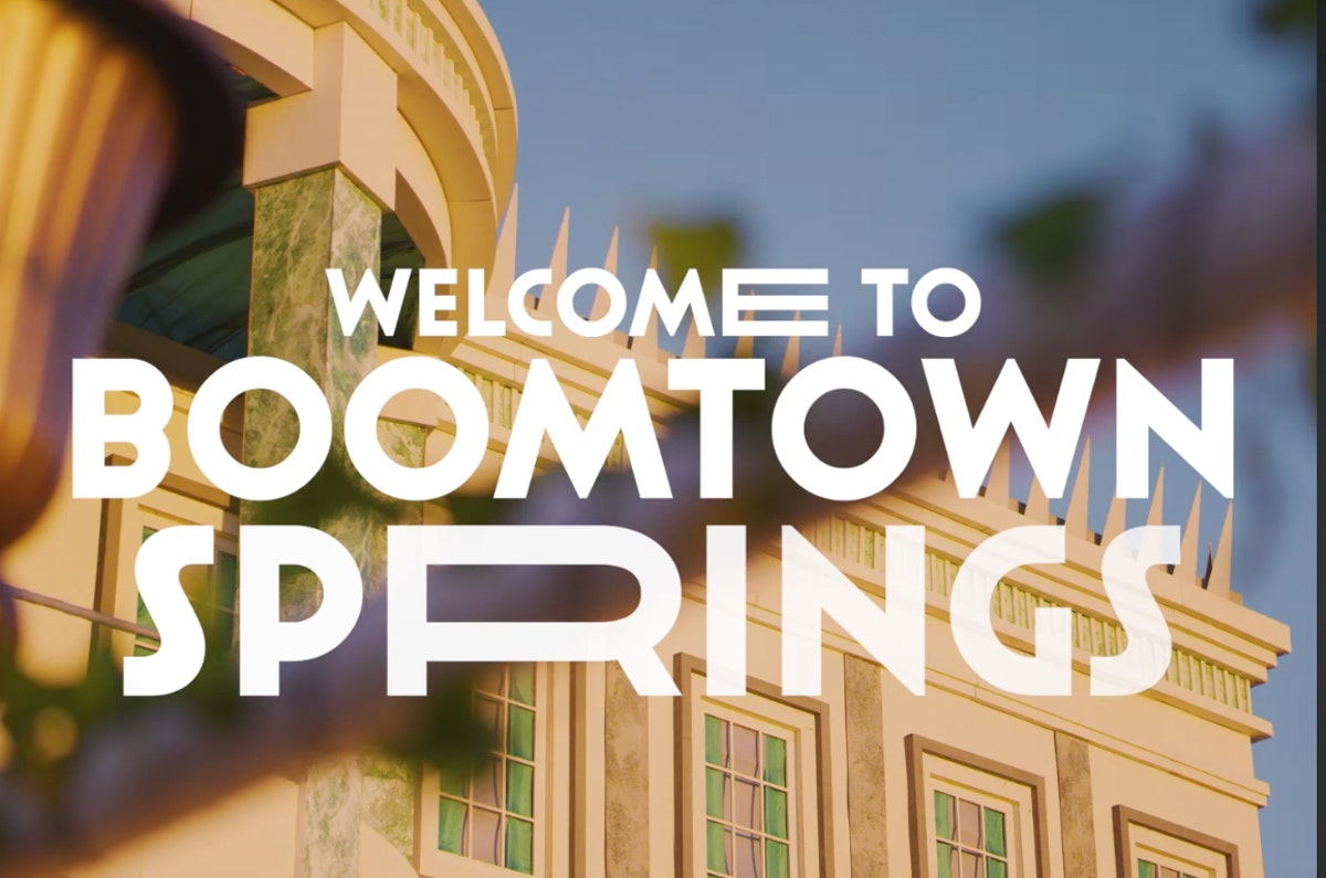 Boomtown Springs... Utopia in suburbia!