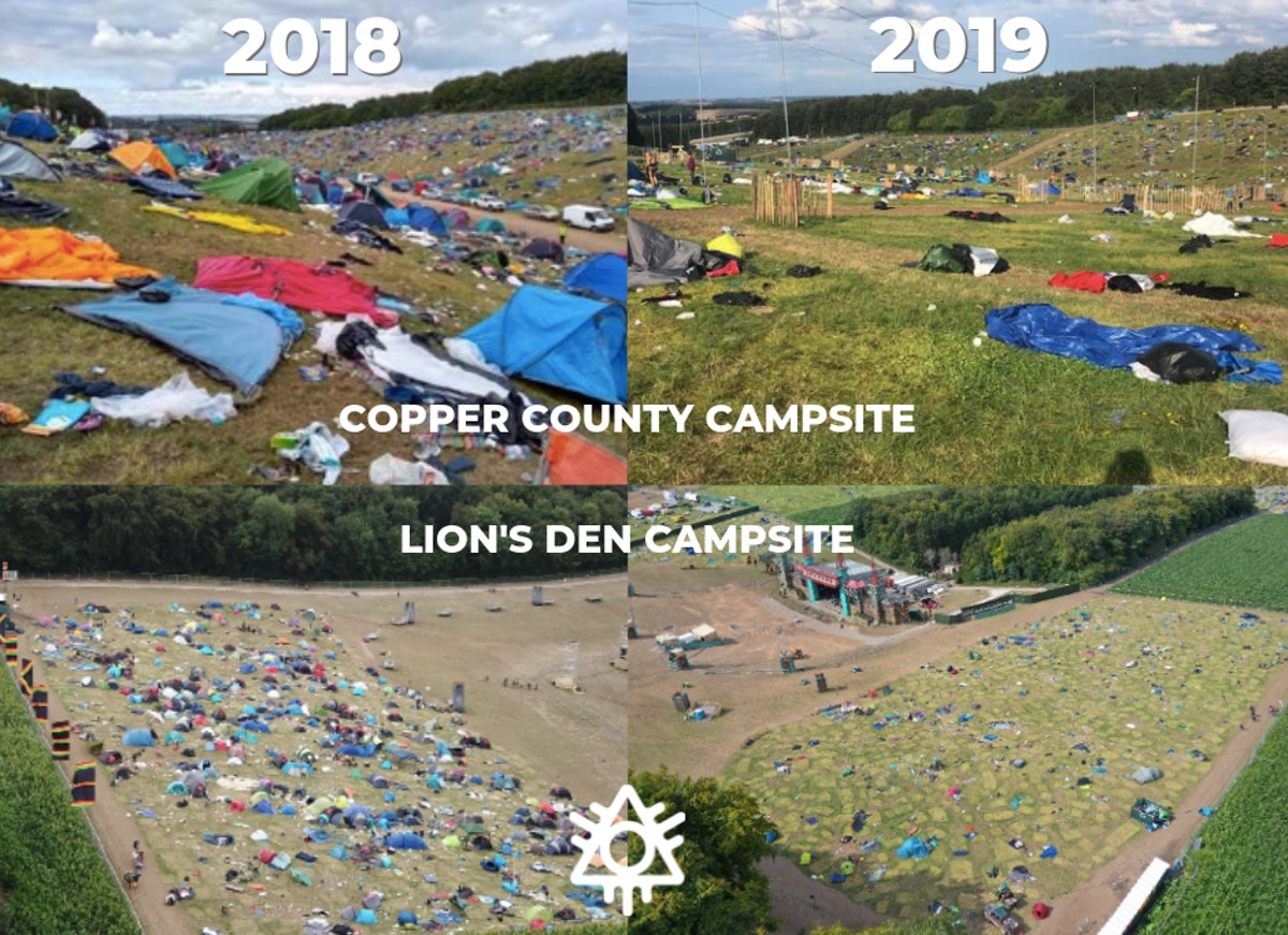 Campsite Waste - some good news!