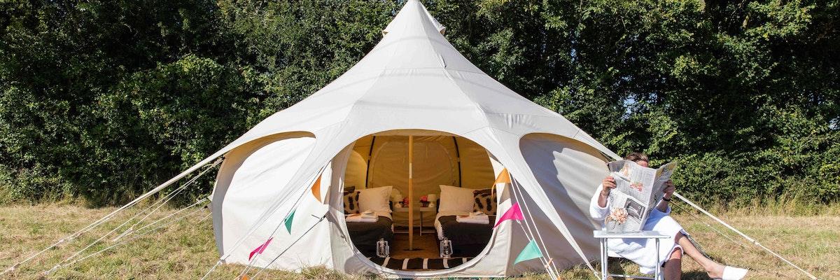 VIP Comfort Lotus Bell Tent, Sleeps 4