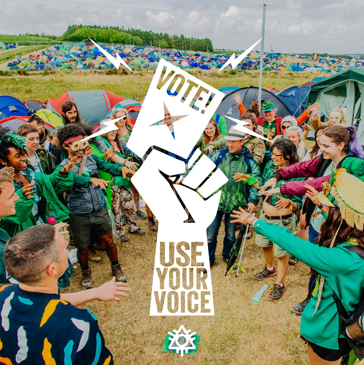 #UseYourVoice2019: Register to vote, win festival tickets!