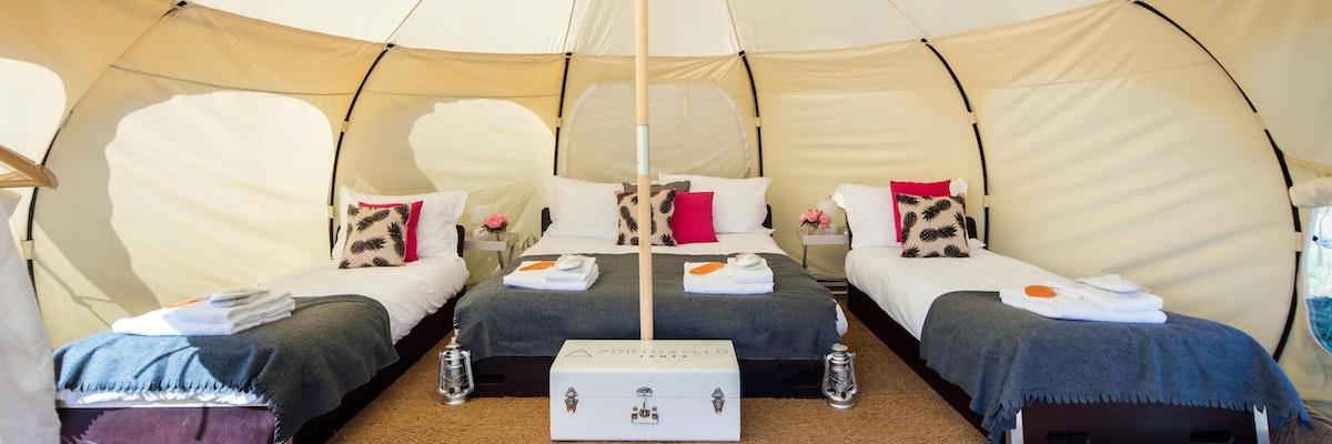 VIP Comfort Lotus Bell Tent, Sleeps 2-4