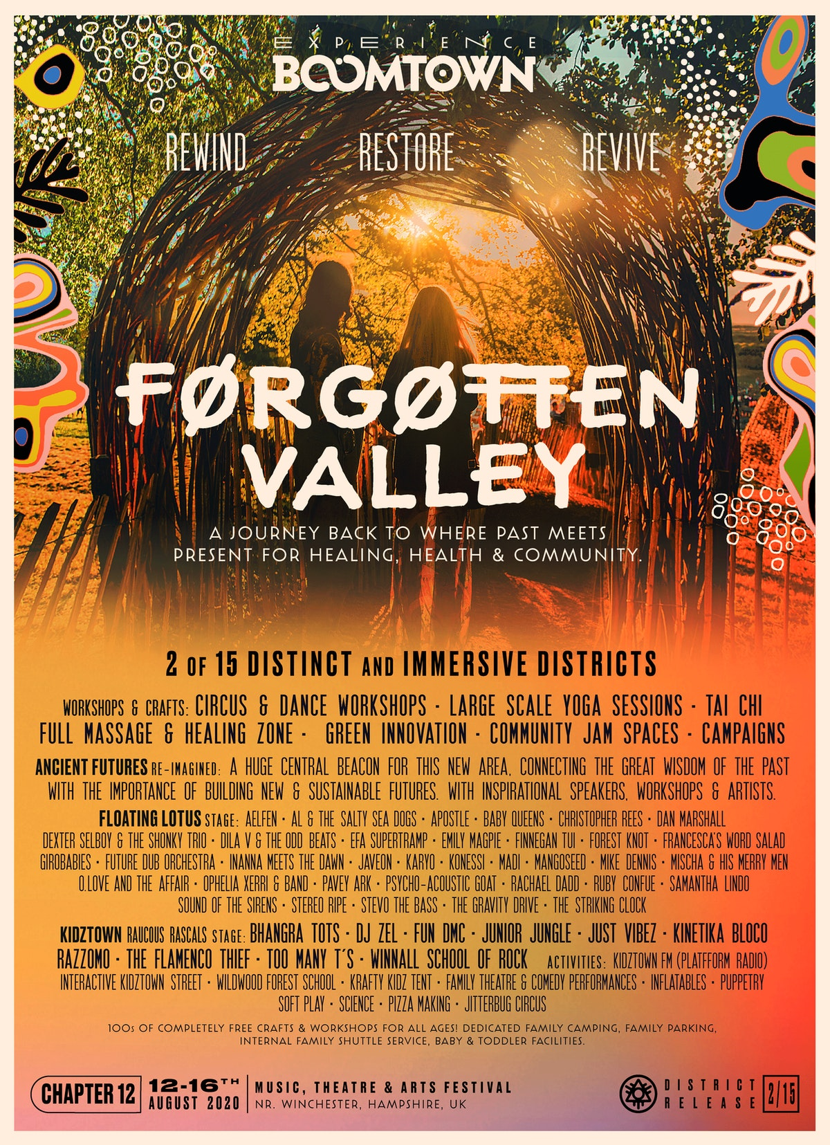 Forgotten Valley Lineup Announcement | District 2/15