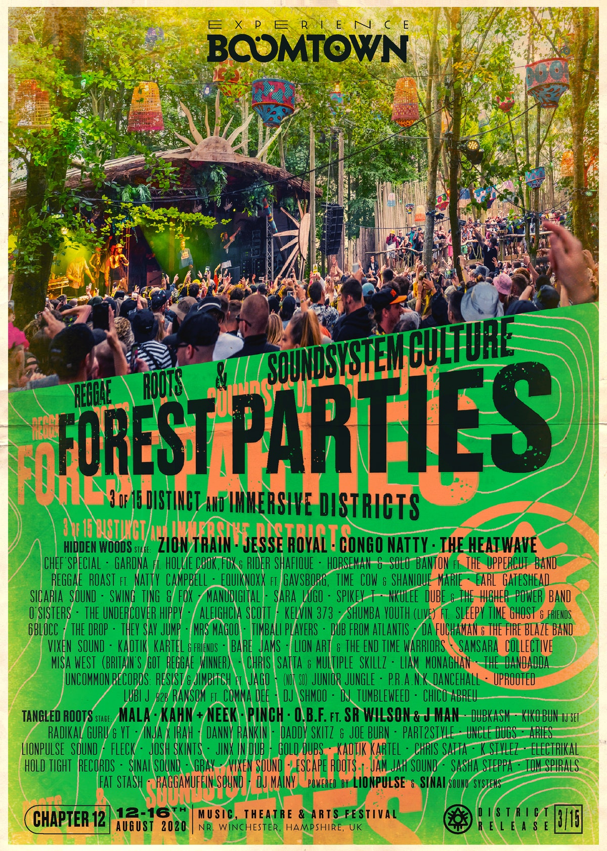 Forest Parties Part 1 Lineup Announcement | District 3/15