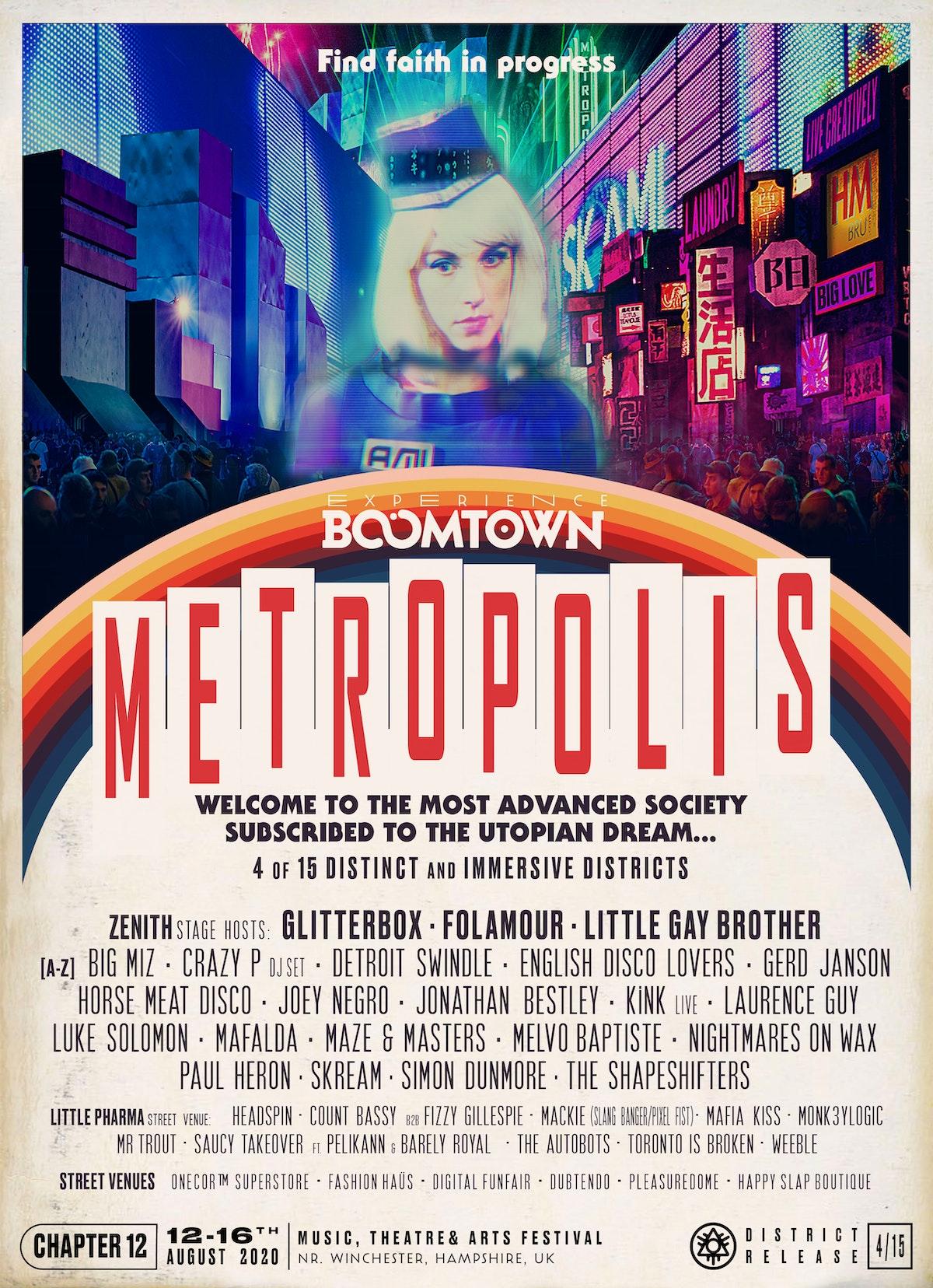 Metropolis Lineup Announcement | District 4/15