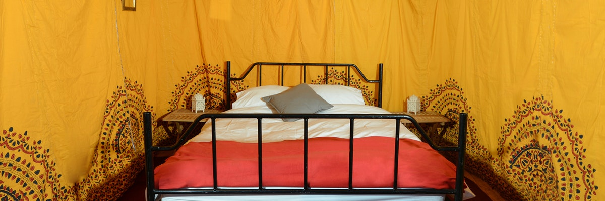 Mini Bedouin Tent (sleeps 2)