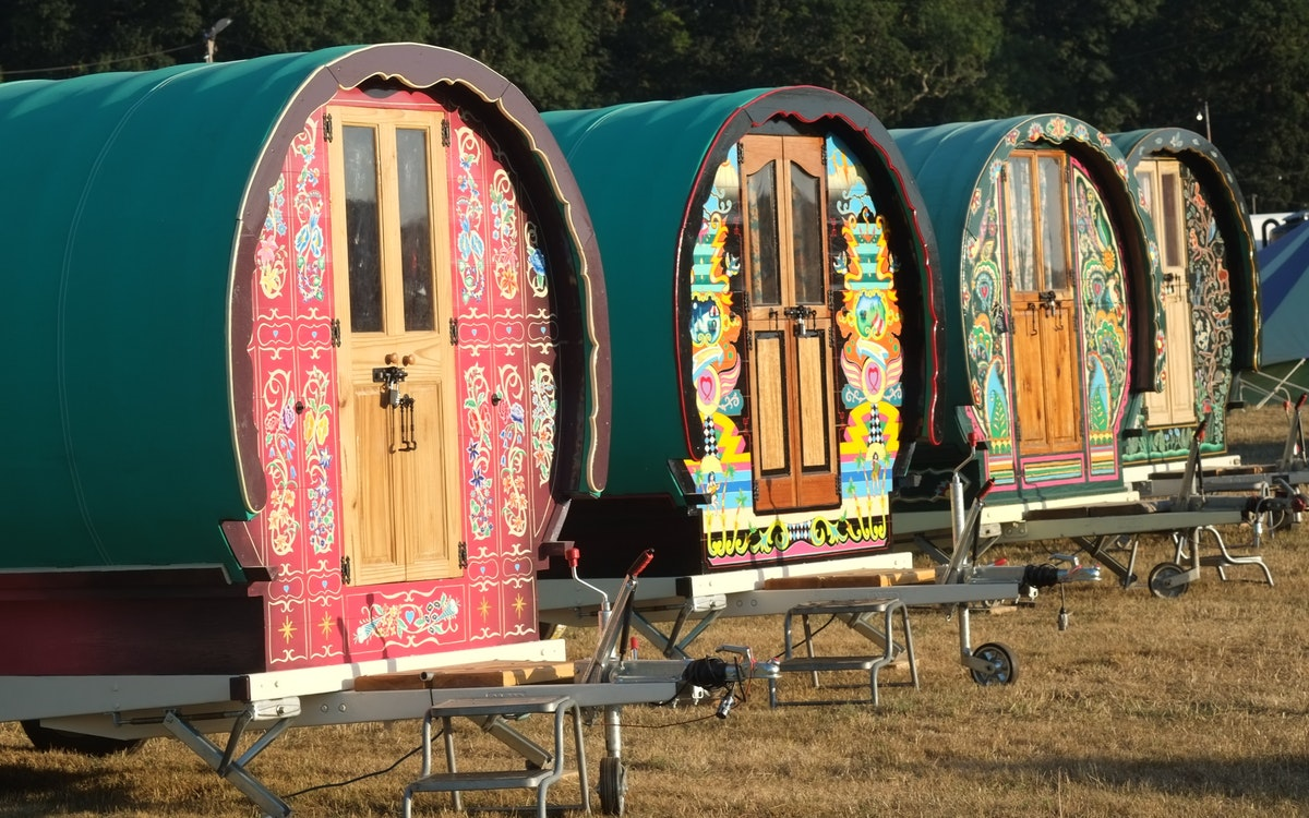 Gypsy Bowtop Wagons (sleeps 4)