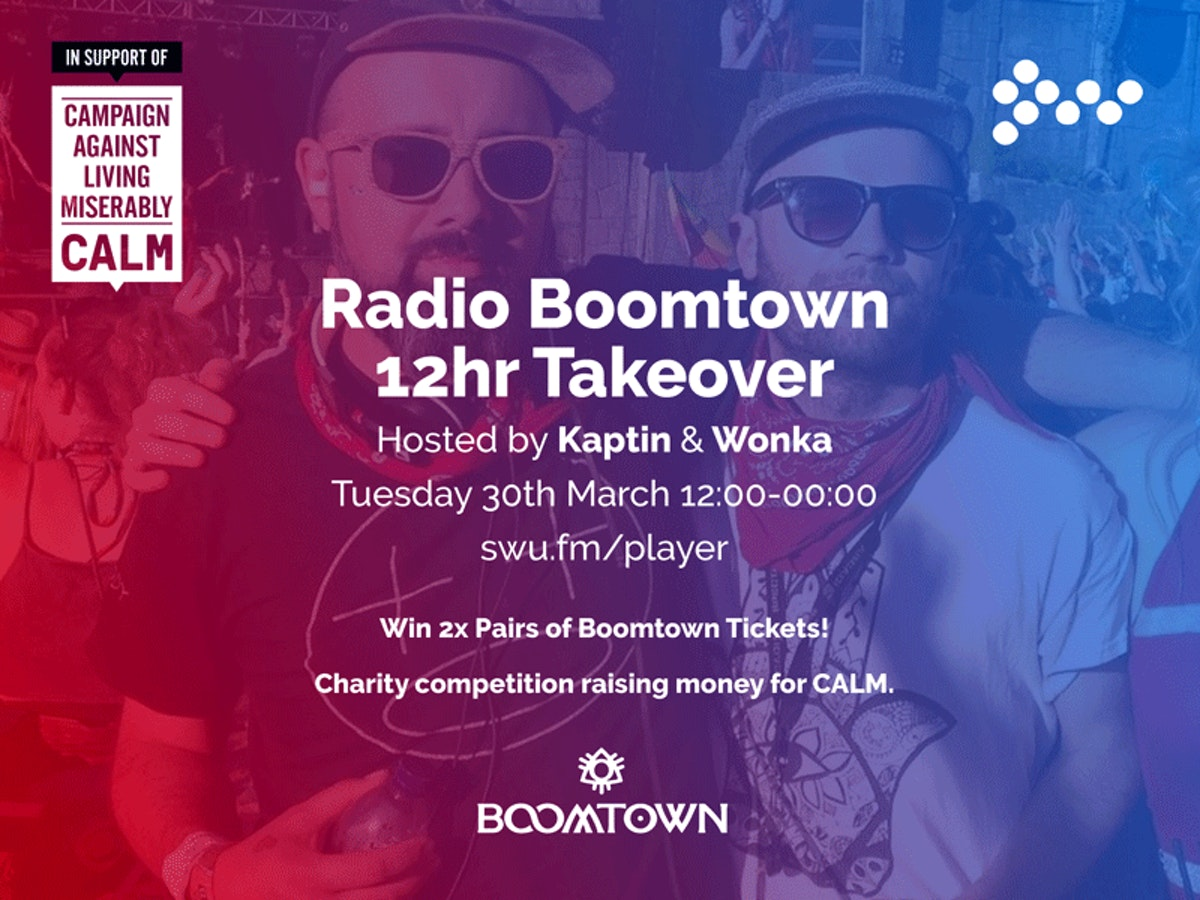Win 2x Boomtown Tickets!!
