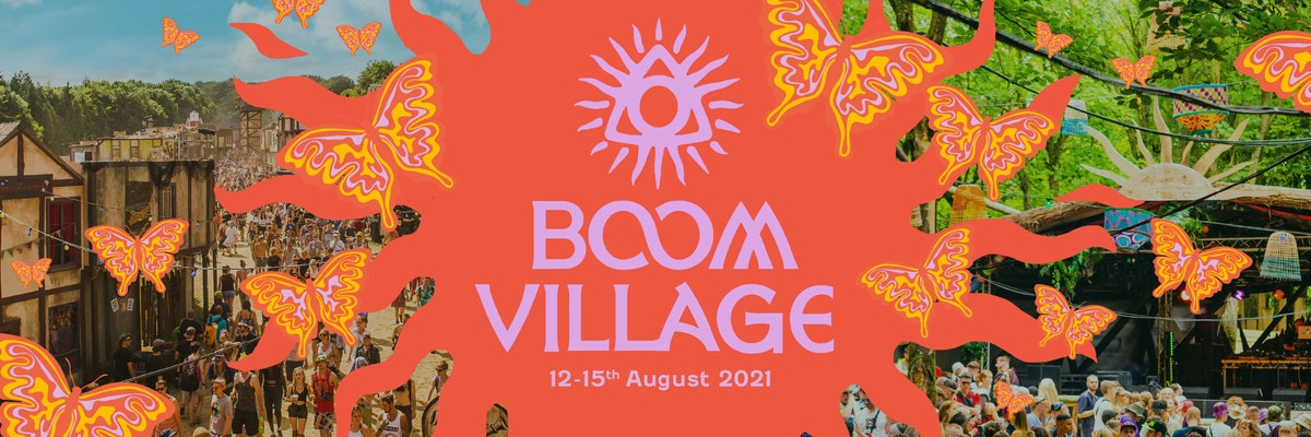 Boom Village -  General release tickets on sale Monday 7pm! 🌱