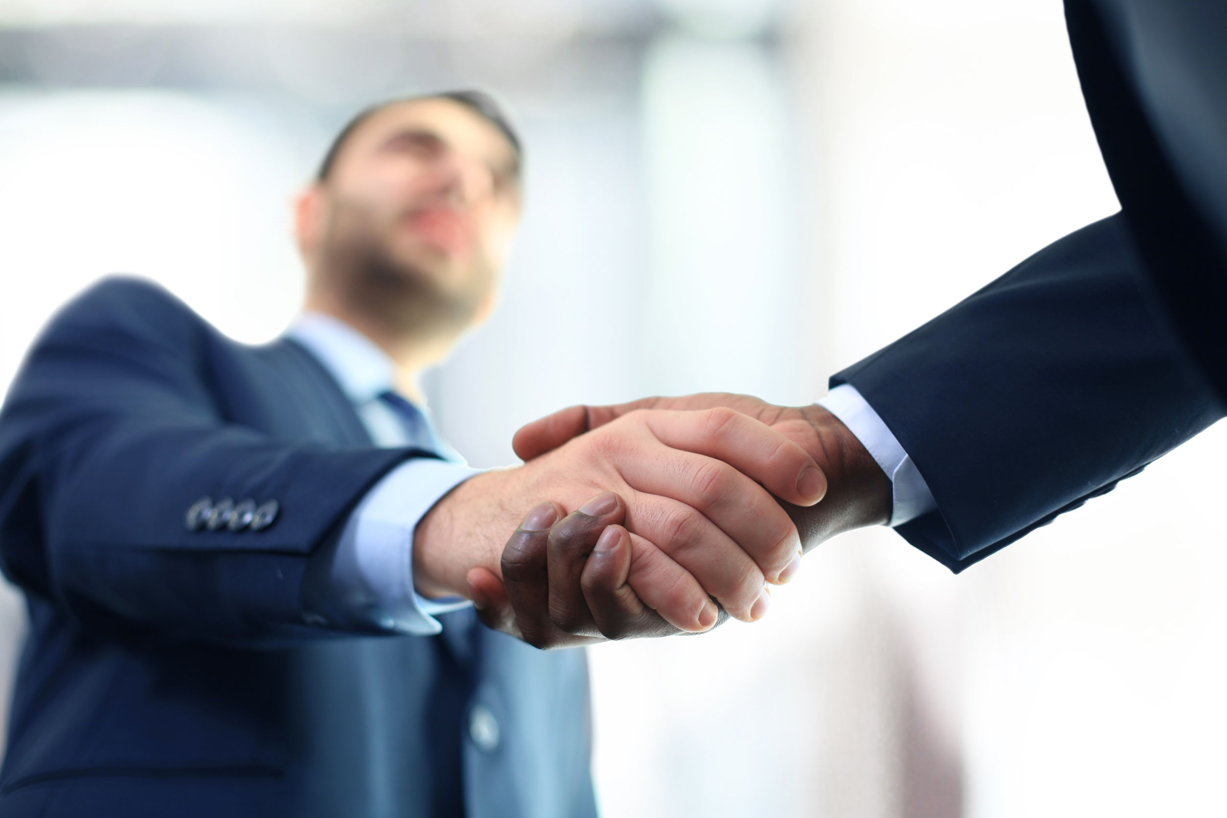 handshake asian couple signing sales contract for car at dealership puzzle