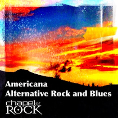 Americana - Alternative Rock & Blues (album cover)