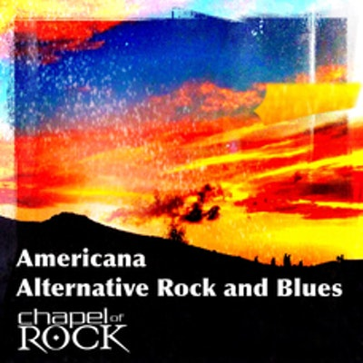 AMERICANA - ALTERNATIVE ROCK AND BLUES (album cover)