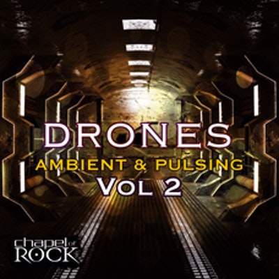DRONES VOL 2 - AMBIENT & PULSING (album cover)