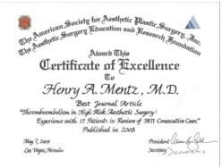 Best Journal Article Award