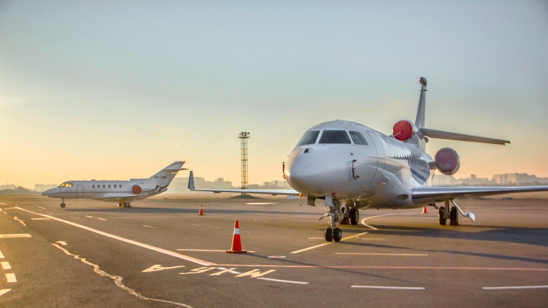 Jet Aircraft Parked