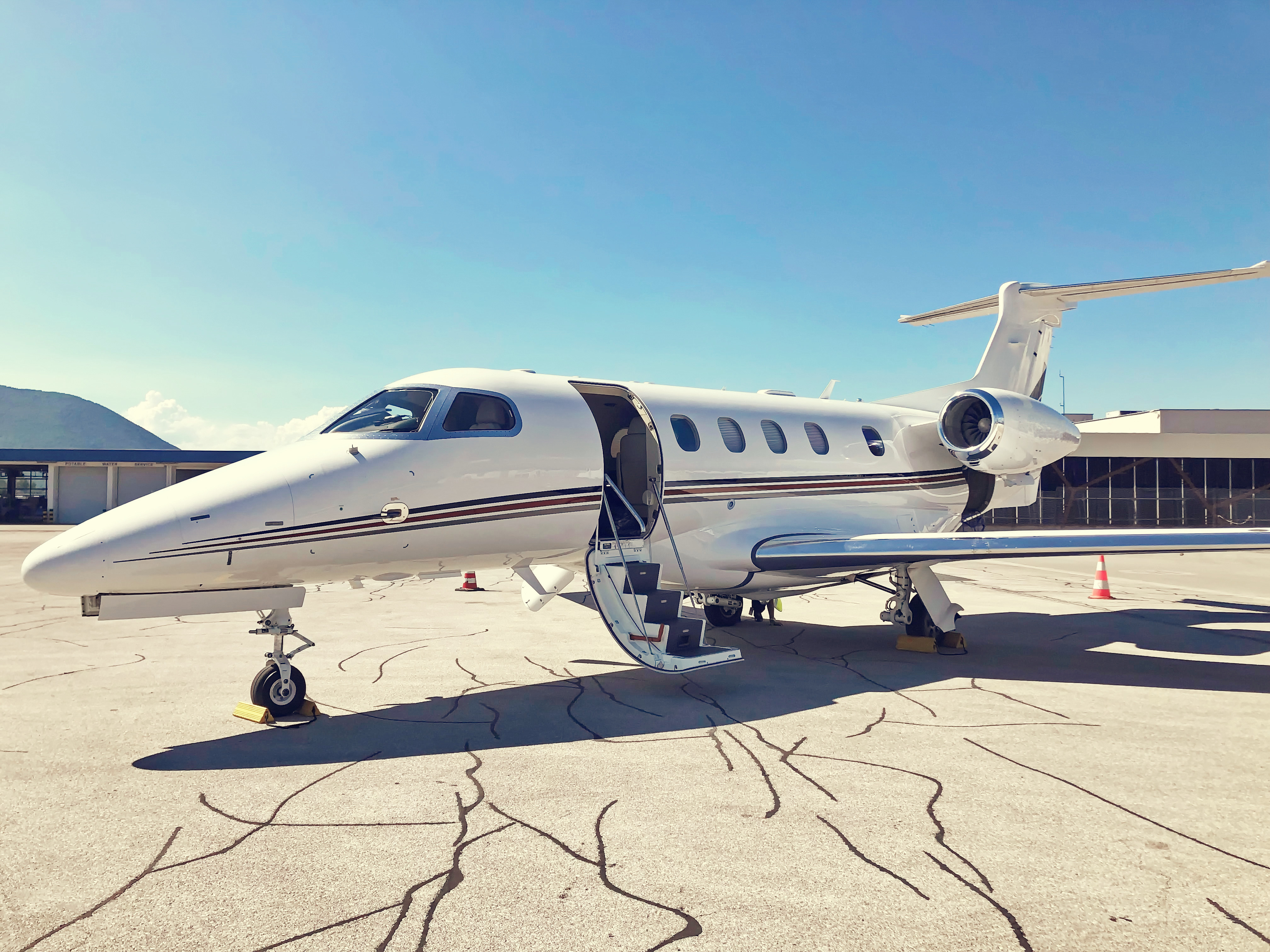 phenom 300 on tarmac