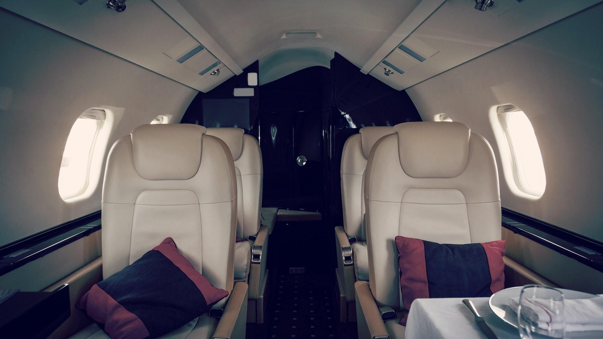 inside of jet