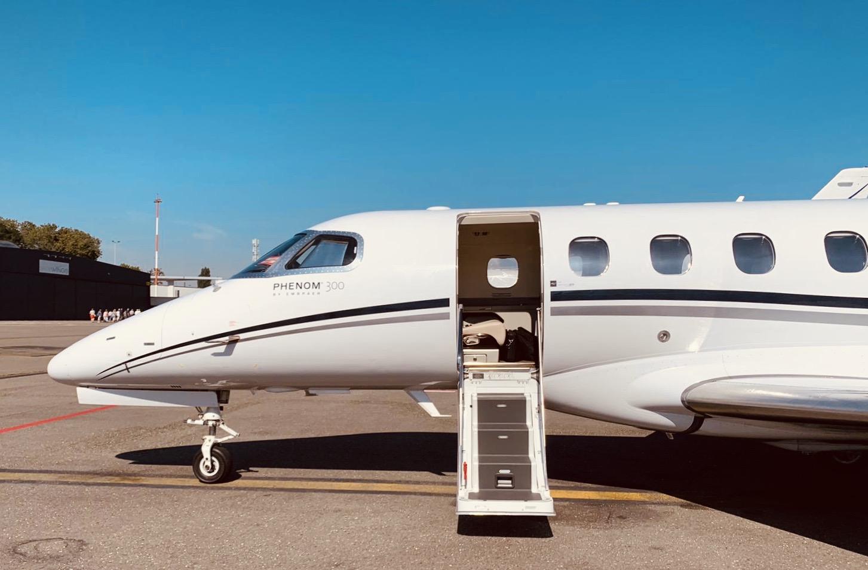 Phenom 300 - Source: Hyer Aviation