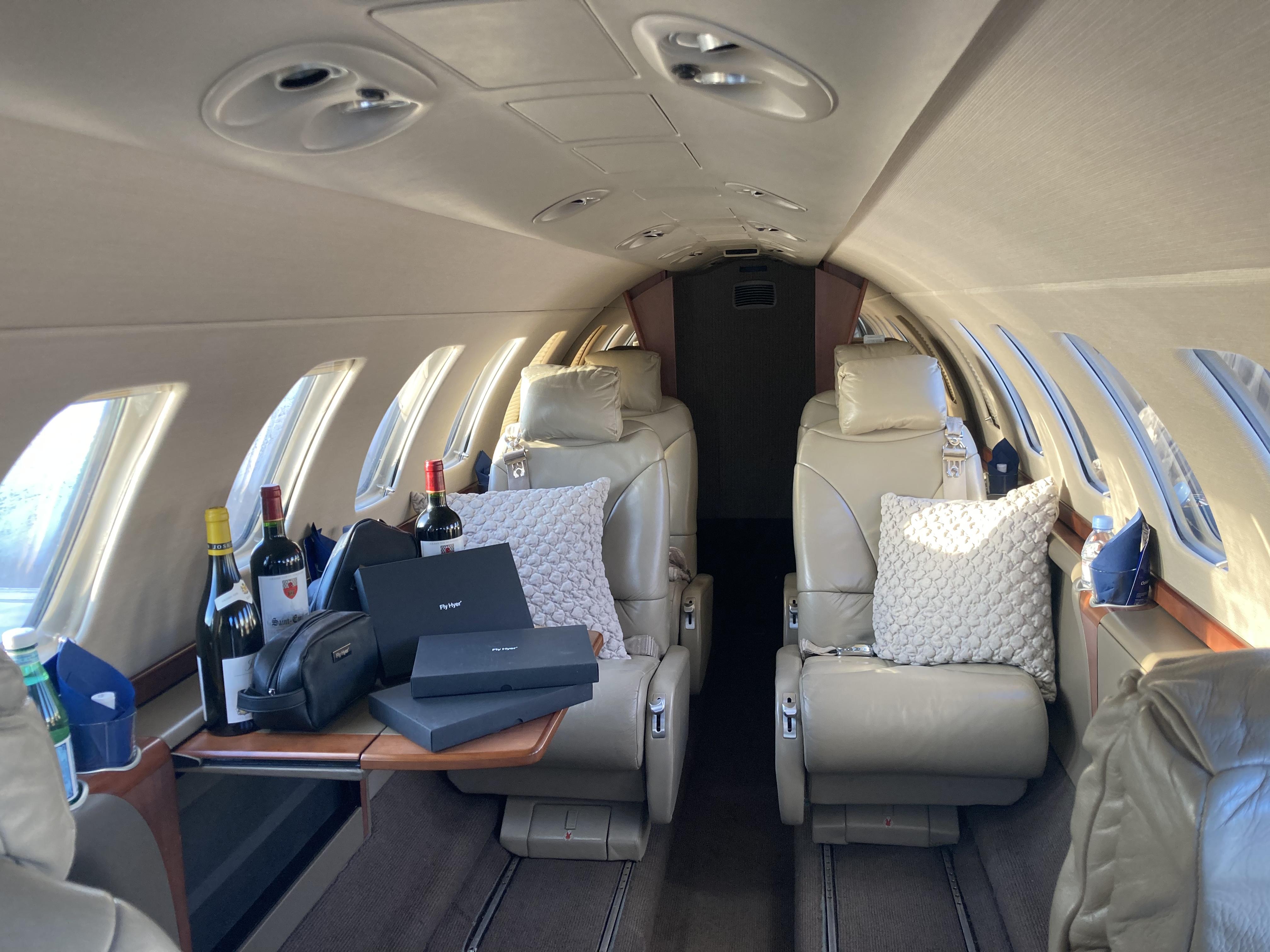 Cessna CJ3 Cabin - Source: Hyer Aviation