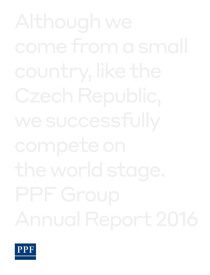 PPF Group N.V. Annual Report 2016