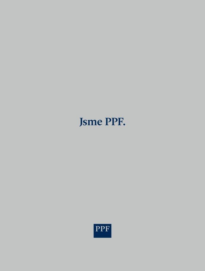 PPF Group N.V. Výroční zpráva 2019