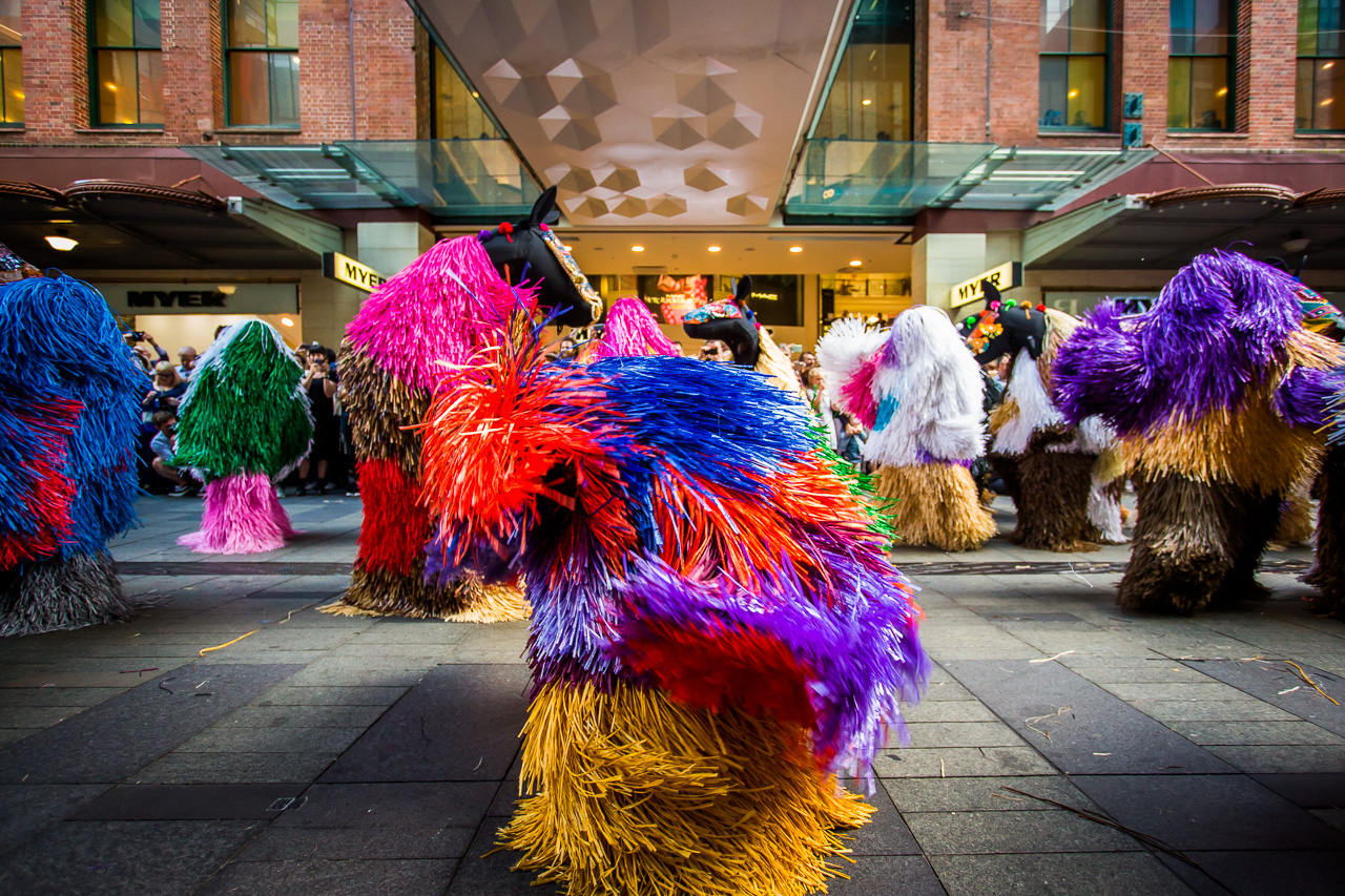 Nick Cave, HEARD-SYD. Image: Katherine Griffiths, City of Sydney.