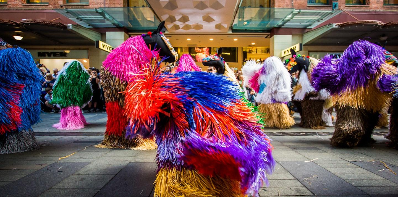 Nick Cave, HEARD-SYD. Image: Katherine Griffiths, City of Sydney.
