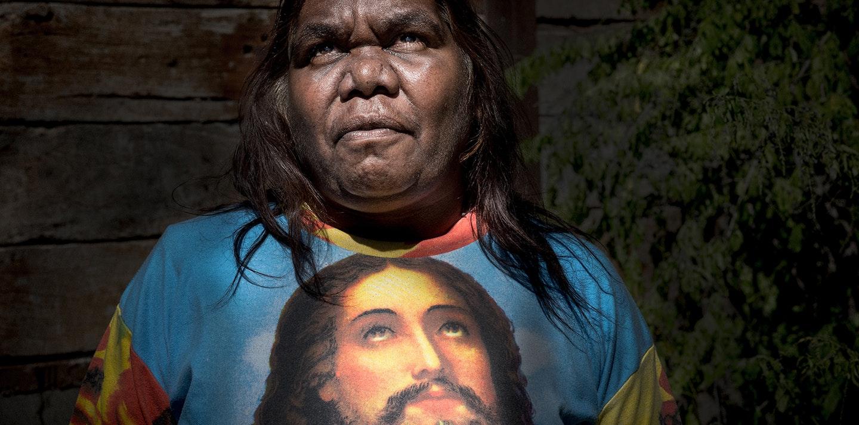 2017 Australian Life winning photograph, Amy Jean Harding, 'Beryl and Jesus'.