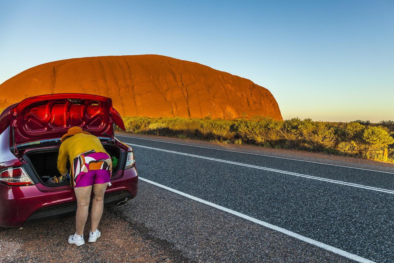 Dominique Houyet, 'Uluru', Uluru, NT.