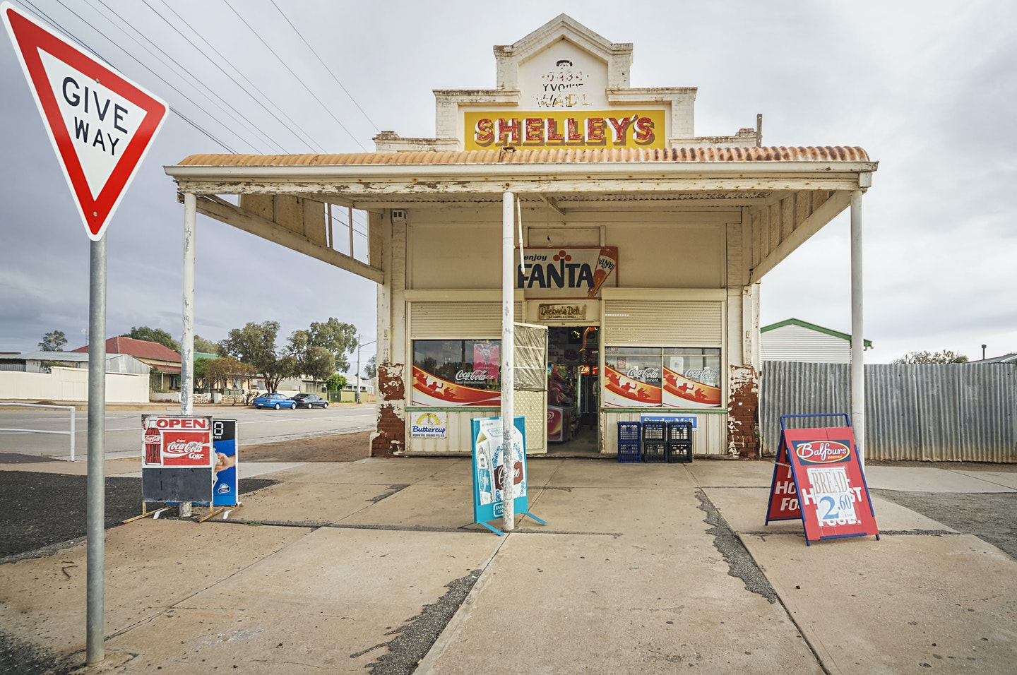 Birgit Neiser, 'The Corner Store', Broken Hill, NSW.