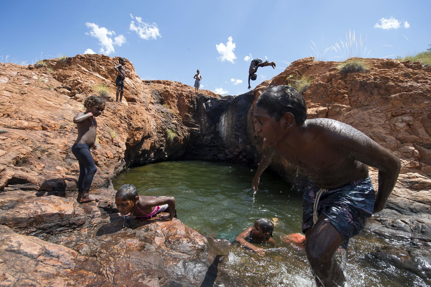 Darren Clark, 'The Upper Rock pools at Middle Springs', East Kimberley's, WA.
