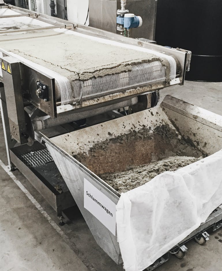 Bandfilter Wastewater System Ctech Europe