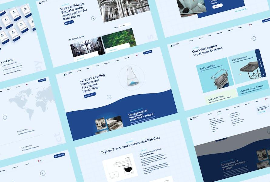 ctech europe website award win