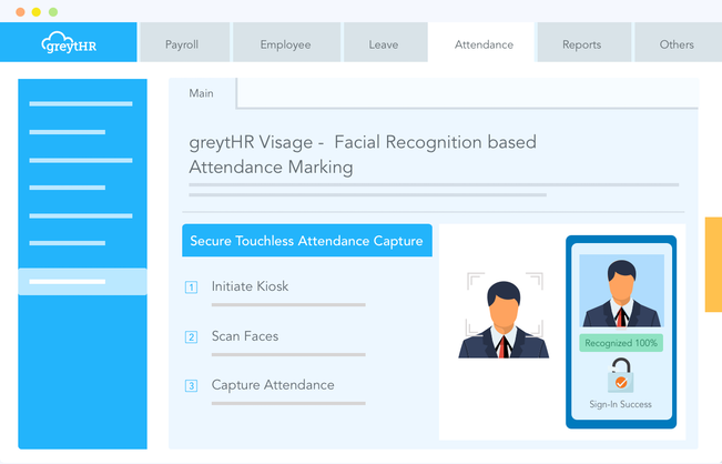greytHR Visage - Attendance through Facial Recognition