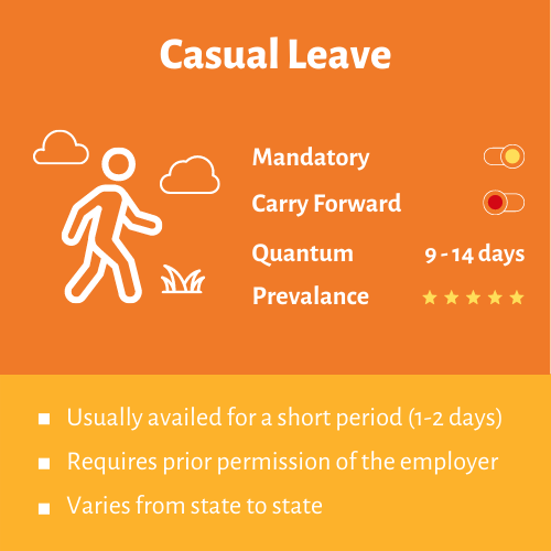 casual leave
