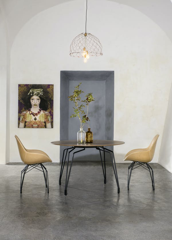 Kubikoff Chair, Kubikoff Table Diamond, Tailored Dimple Chair Collection